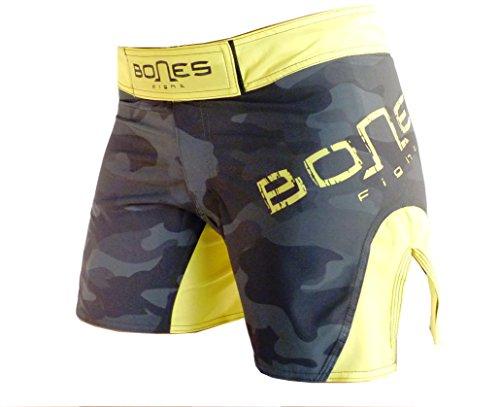 Bones-Fight-Womens-Fight-Short-Womens-Short-mma-BJJ-Womens-grappling-Womens-Free-Fight-Short-Short-camouflage
