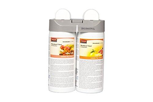 rubbermaid-microburst-duet-nachfullset-fur-raumlufterfrischer-sorten-tender-fruits-und-citrus-leaves