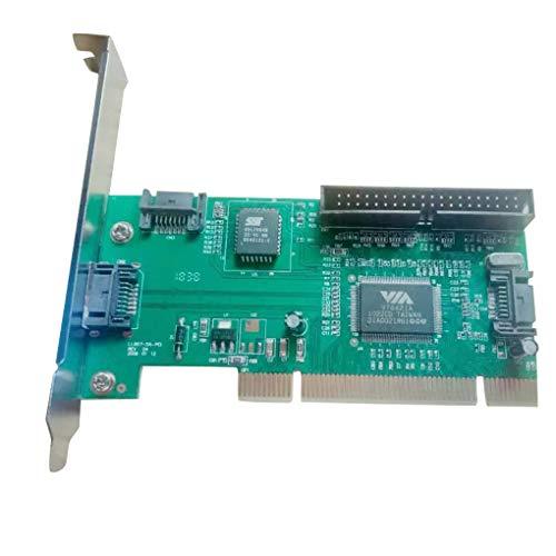Pci-bus-anschluss (Provide The Best Qualitäts-PC Tablet-Computer 3 Anschlüsse SATA + IDE HDD Serielle ATA PCI-Karte Konverter-Adapter)