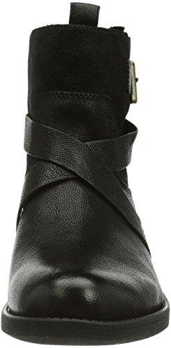 Clarks  Merryn Trail, Bottes Classics courtes, doublure froide femme Noir (Black Leather)