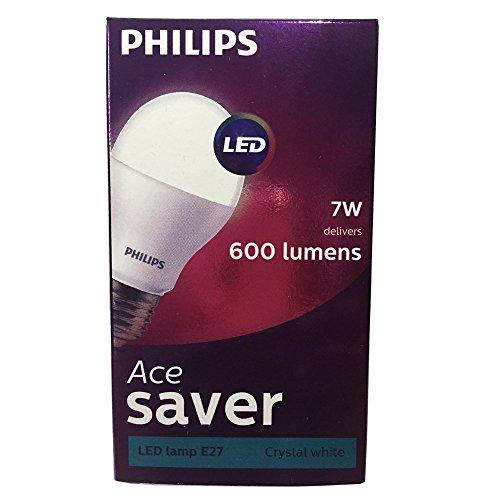 Philips 7-Watt E27 Base LED Bulb (Cool Day Light)