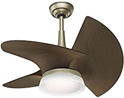 Casablanca Fan Company 59138 Orchid Outdoor Ceiling Fan with Wall Control, Small, Pewter Revival