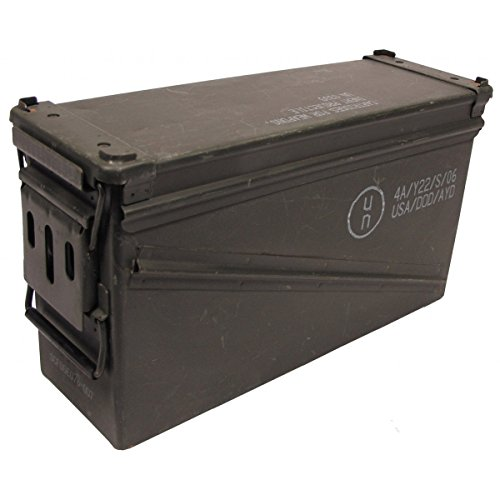 mfh-usato-taglia-5-us-army-munizioni-46-x-155-x-25-cm-cassetta-degli-attrezzi-box-scatola-di-metallo