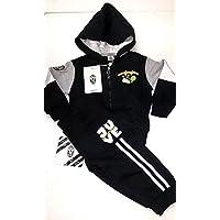 COMPLETO FELPA + PANTALONI TUTA bambino bimbo JUVENTUS FC JUVE prodotto  ufficiale (36 mesi) 93bd6df1d7a6