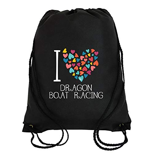 Idakoos Bolso Deportivo I Love Dragon Boat Racing Colorful Hearts e5bc65f9cc0