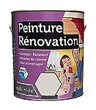 Peinture 0,5 Litre GRIS ICEBERG Spécial rénovation carrelage cuisine radiateur electromenage