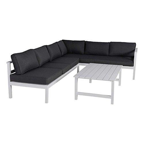 OUTLIV. Loungemöbel Outdoor Indianapolis Loungeecke 3-Teilig Aluminium/Olefin Gartenmöbel Design...
