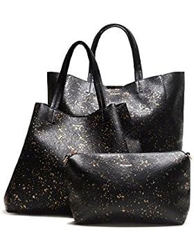 Tasche Cuenca Metal Splatter + Pochette