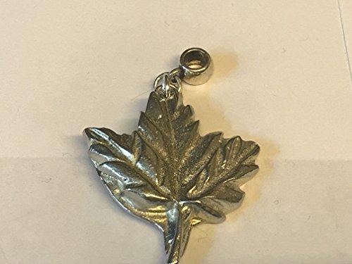 Big Maple Leaf tg237Charme mit 5mm Loch passt auf Anhänger Charm Armband geschrieben von uns Geschenke für alle 2016von Derbyshire UK