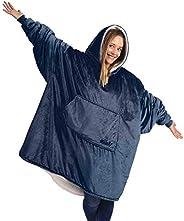THE COMFY The Blanket La frazada Confortable. Es una Sudadera, Talla Única, Suave, y cómoda Sudadera originalm