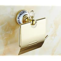 X&L Continentale oro rame bagno bagno accessori