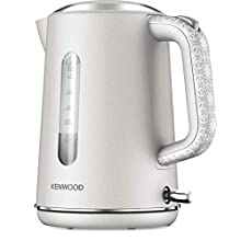 Kenwood ZJP05.A0CR Abbey Cream design kettle, 1.7L with flip top lid, 360⁰ swivel base, removable filter for easy cleaning, cord storage - Cream