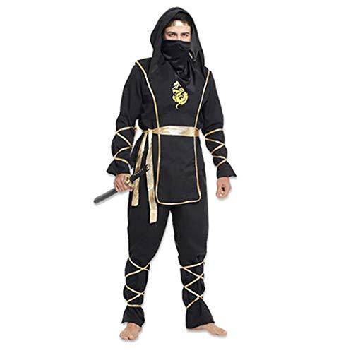 HYYSH Halloween Kostüm für Erwachsene Cosplay Ninja Kostüm (Zwei Styles) (Design : ()