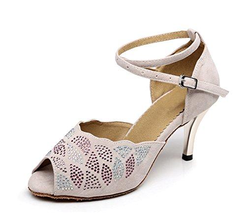 Miyoopark - Ballroom donna Beige-7.5cm Heel