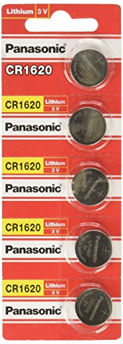 Panasonic CR1620 3V Lithium Cell Battery (5Pcs per pack)