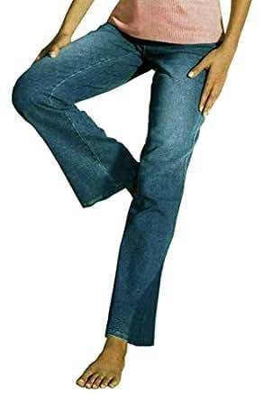 HELLINE 5 poches-effet jeans jean pour femme bleu taille xS (34 cm-pas de taille