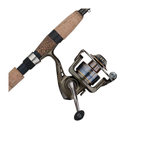 Shakespeare WILDSS1062UL35 Wild Series SalmonSteelhead Spinning Combo (2-Piece), 10-Feet 6-Inch by Shakespeare