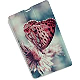 Pen Drive / Butterfly Printed High Speed Credit Card Type 16 GB Plastic Pen Drive/Data Storage