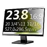Xianan 23,8 Zoll 16:9 Breitbild Bildschirmfilter Displayfilter Displayschutz Blickschutzfolie Sichtschutzfolie Privacy Filter 20,75x11,67zoll/527x296,5mm