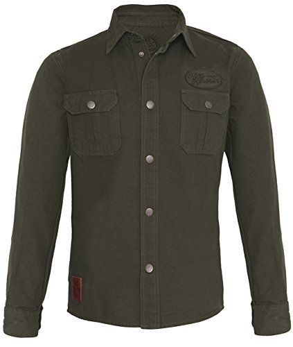 King Kerosin -  Camicia Casual  - Uomo verde XXX-Large