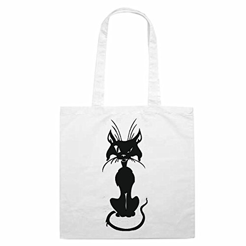 Tasche Umhängetasche Motiv Nr. 14006 Katze Cat Hauskatze Baby Vier Pfoten Rassekatze Einkaufstasche Schulbeutel Turnbeut