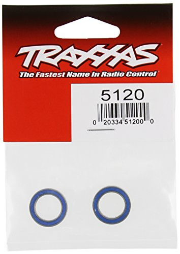 Traxxas 5120Kugellager, blau Gummi abgedichtet (12x 18x 4mm) (2) -