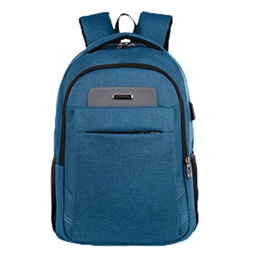Ohmais Rücksack Rucksäcke Rucksack Backpack Daypack Schulranzen Schulrucksack Wanderrucksack Schultasche Rucksack für Schülerin dunkelblau
