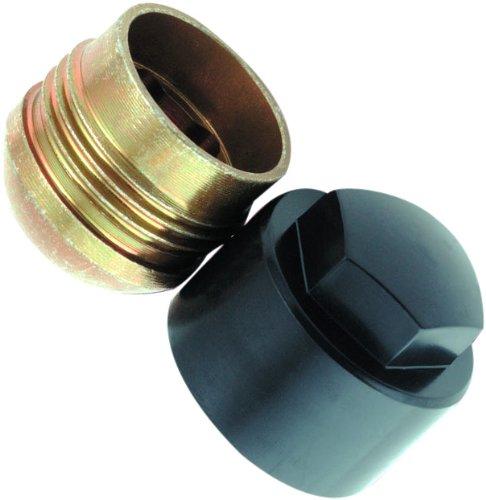 McGard 27207SU Dispositif antivol de roues et de pneus Standard /à assise conique SW19 Filetage M12 x 1,50 Longueur 26,4 mm