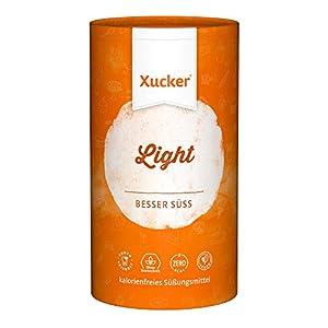 Xucker Light 1kg kalorienfreie Zuckeralternative Erythrit, natürlich ohne...
