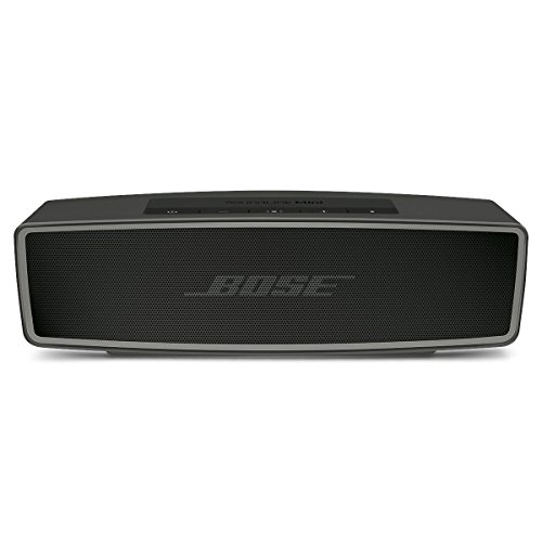 Bose SoundLink Mini II - Altavoz portátil Bluetooth, color carbón
