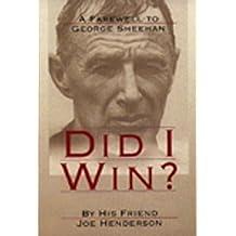 Did I Win? by Joe Henderson (1995-12-02)