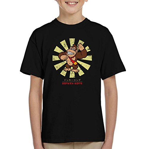 Donkey Kong Retro Japanese Super Mario Kid's T-Shirt