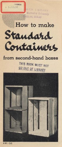 Box Us-general Tool (How to Make Standard Containers from Second-Hand Boxes (English Edition))