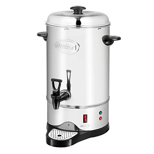Swan 10 Litre (40 cup) Commercial Stainless Steel Catering Urn / Water Boiler