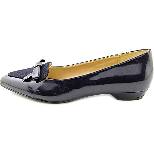 Ann Marino by Bettye Muller Sublime Synthétique Chaussure Plate Navy