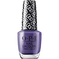 OPI Hello Kitty Nail Polish, Dark Purple, 15ml - Hello Pretty