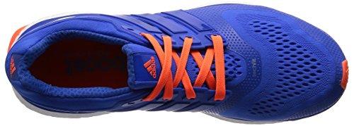 adidas Energy Boost Esm, Chaussures de Sport Homme Bleu (Blue/Blue/Solar Orange)