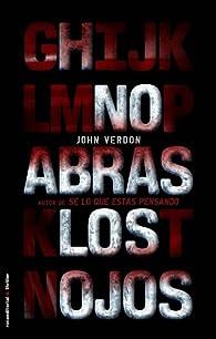 No Abras Los Ojos par John Verdon