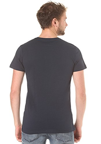 Herren T-Shirt Volcom True To This LW T-Shirt Blau