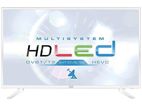 "TV LED 32"" HD Ready DVB T2/S2 HDMI USB Media Player Bianco LTV 3205 SAT"