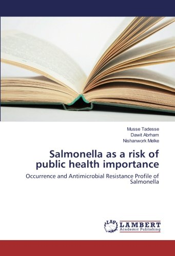 Salmonella as a risk of public health importance: Occurrence and Antimicrobial Resistance Profile of Salmonella por Musse Tadesse