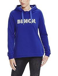 Bench Hoody with Bench Print, Sweat-Shirt àCapuche Femme