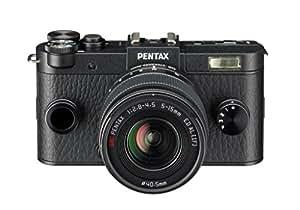 pentax q s1 appareil photo hybride cran 3 7 6cm 12 mpix bo tier objectif 5 15mm f2 8 4 5. Black Bedroom Furniture Sets. Home Design Ideas