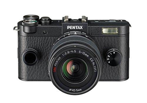 Pentax Q-S1 + 5-15mm - Cámara EVIL, negro
