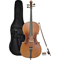 Steinbach 4/4 Cello im Set handgearbeitet und wunderschön satiniert