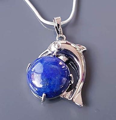 Pendentif dauphin, Lapis Lazuli