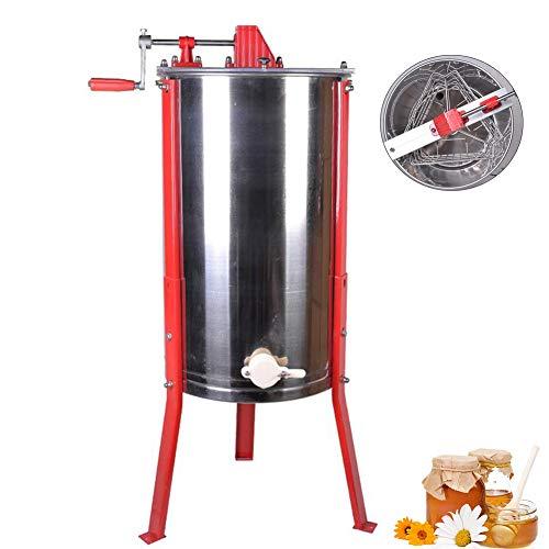 EFGS Séparateurs D'extraction du Miel en Acier Inoxydable 3 Cadres Durable Antipoussière