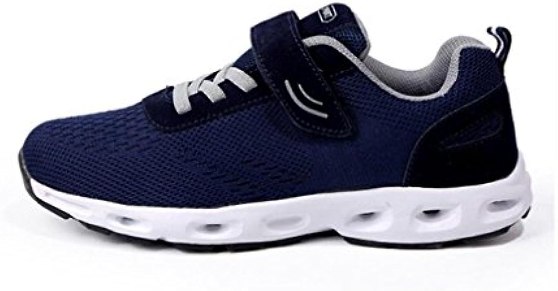 YaXuan Turnschuhe  Neue Männer und Frauen  die Gewebte  Breathable Athletische Schuhe  Super weisshe Gummiboden Paar alte
