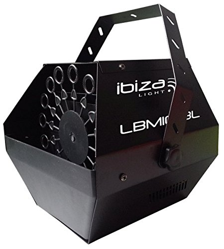 Ibiza 15-1098b Tragbare Seifenblasenmaschine (Nebelmaschine Seifenblasenmaschine)
