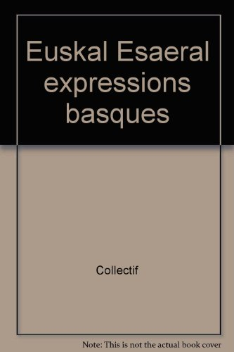 Euskal esaerak expressions basques